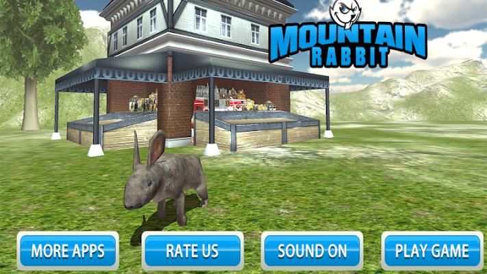 Mountain Rabbit SIM 3D - screenshot