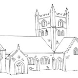 Dibujos Para Colorear Iglesias