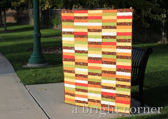 Woodland quilt and free quilt pattern