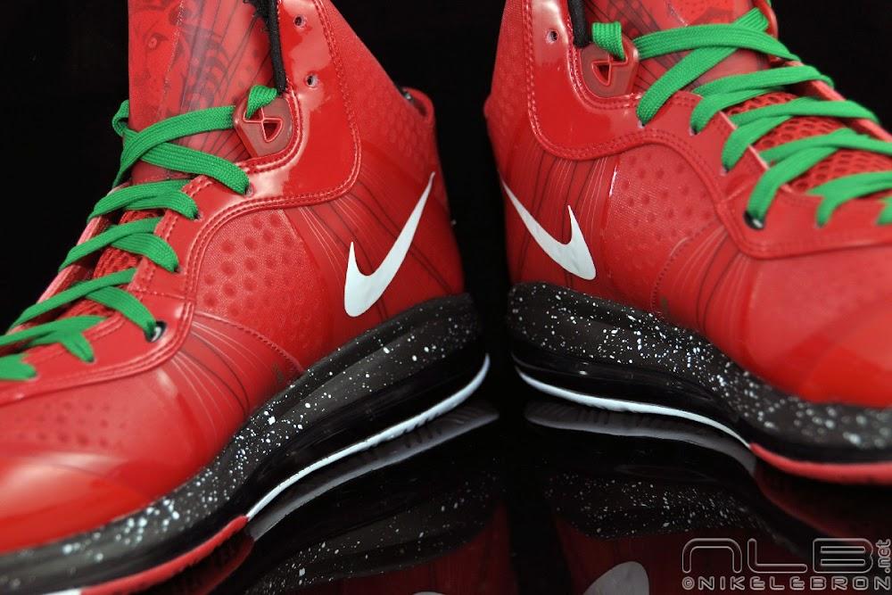 a7716f54f3daa The Showcase Nike Air Max LeBron 8 V2 Christmas Exclusive ...