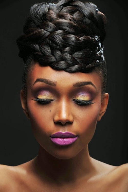Groovy Elegant Wedding Hairstyle For African American Women Hairstyle Inspiration Daily Dogsangcom