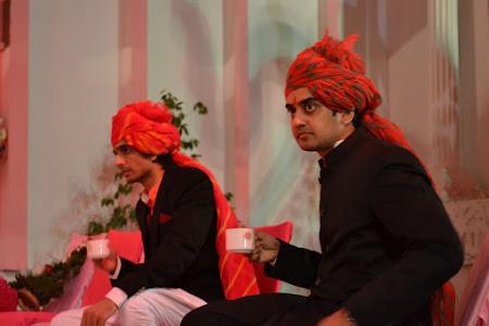 Nunta India: Ajit- cavalerul de onoare