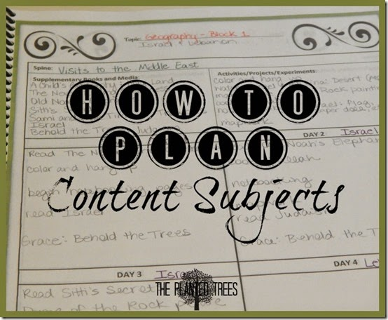 How to Plan Content Subjects