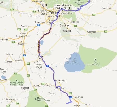 Harta Iran