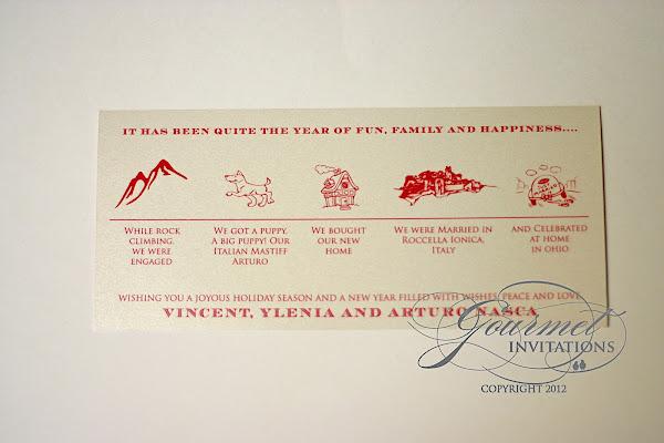ylenia u0026 39 s timeline christmas cards