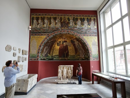 Muzeu Berlin: Altar bizantin