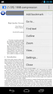 AnDoc - PDF & DJVU Reader - screenshot thumbnail