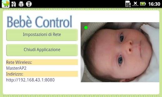 Bebe' Control A/V Baby Monitor - screenshot thumbnail