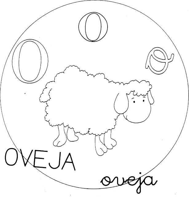 Dibujos Para Colorear De Las Vocales Para Preescolar