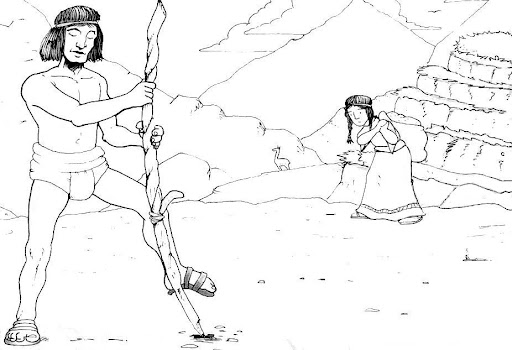 Dibujo De Chilena Para Colorear: DIBUJOS PUEBLOS ORIGINARIOS DE CHILE