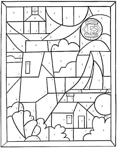 Rompecabezas De Figuras Geométricas Para Colorear Imagui