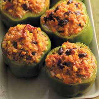 Vegetable-Stuffed Peppers.