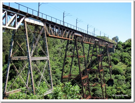 Makatote viaduct. Nearly 80m above the Wanganui river built in 1905/6.