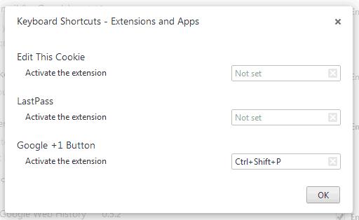 chrome-set-shortcuts