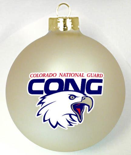 Company Logo Christmas Ornaments: Military Christmas Ornaments