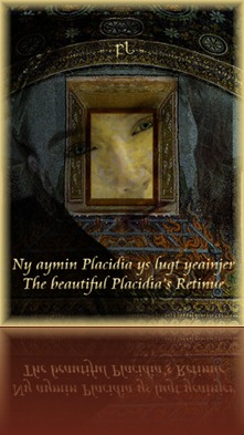 The beautiful Placidia retinue Cover