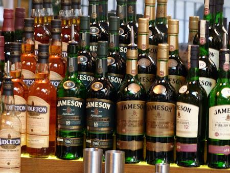 Imagini Dublin: colectie Jameson whiske