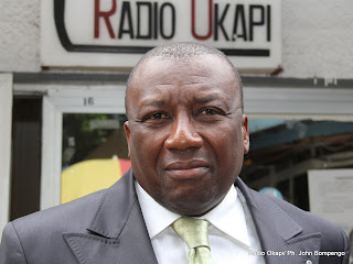 Jacques Djoli. Radio Okapi/ Ph. John Bompengo