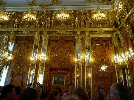 Camera de chihlimbar din Tsarskoe Selo