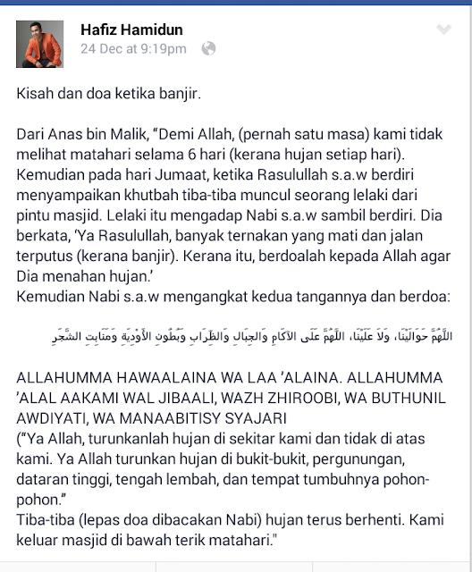 Berdoalah semua..