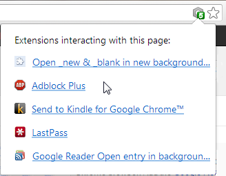 Google Chrome 25 New Script Bubble