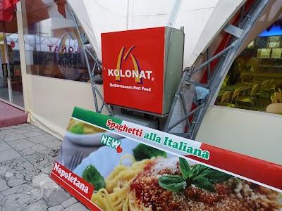 Obiective turistice Tirana: Fast food Kolonat