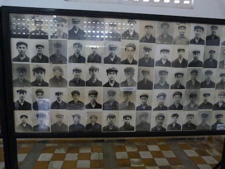 Khmerii rosii Phnom Penh: omorati in inchisoare
