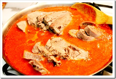 Beef Tongue in Tomato Sauce Recipe | Mexican Recipes