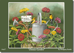 2 Card Front Zinnia