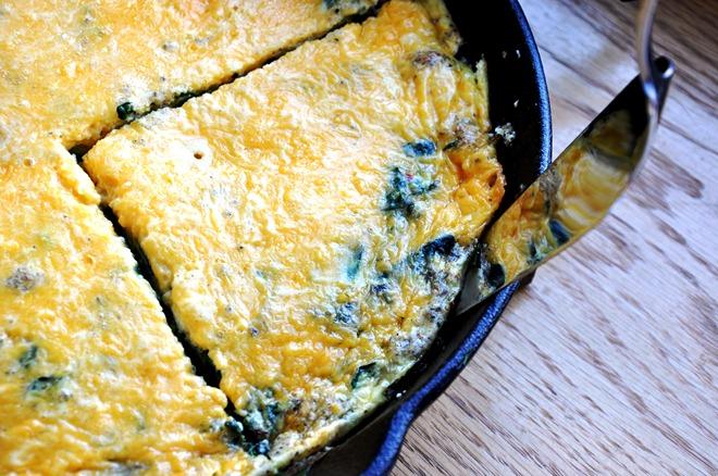 egg fritata 250