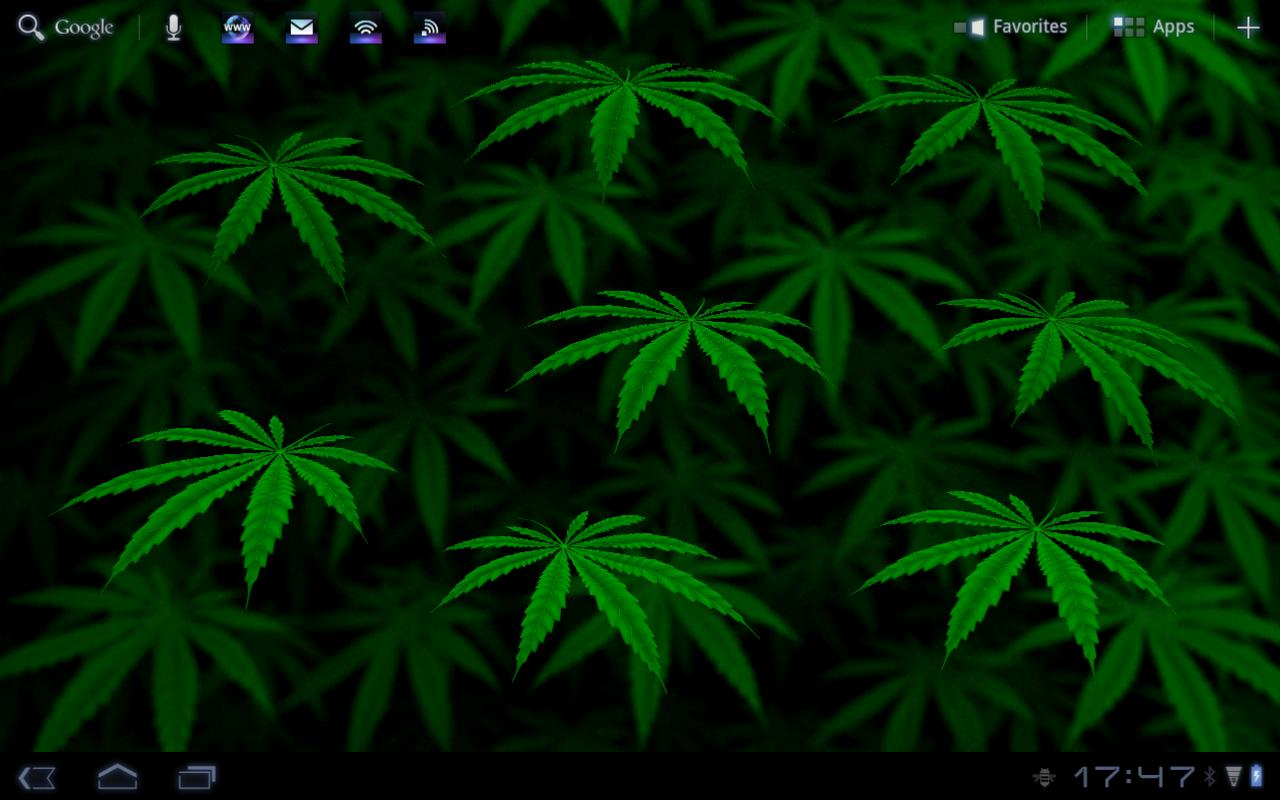 My Ganja Live Wallpaper- screenshot