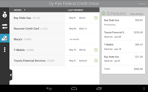 Cy-Fair FCU Mobile Banking- screenshot thumbnail