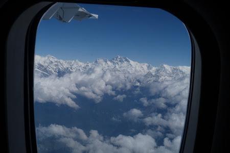 Himalaya vazuta din avion