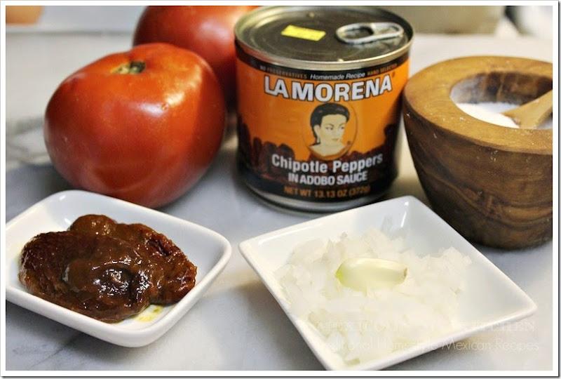 Chipotle Sauce Meatballs | La Morena