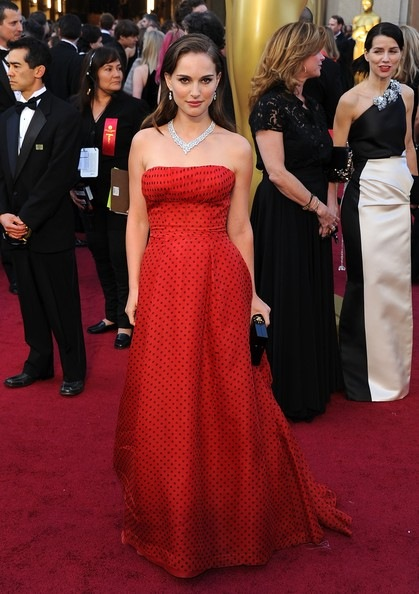 Natalie Portman 84th Annual Academy Awards Arrivals