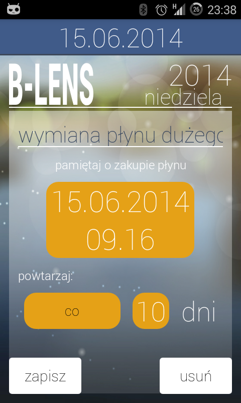 B-Lens Organizer- screenshot
