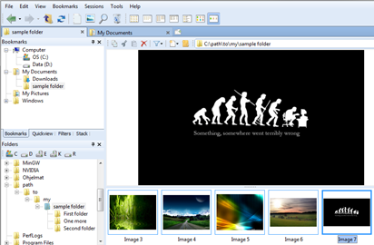 Free Windows Explorer Alternative - CubicExplorer