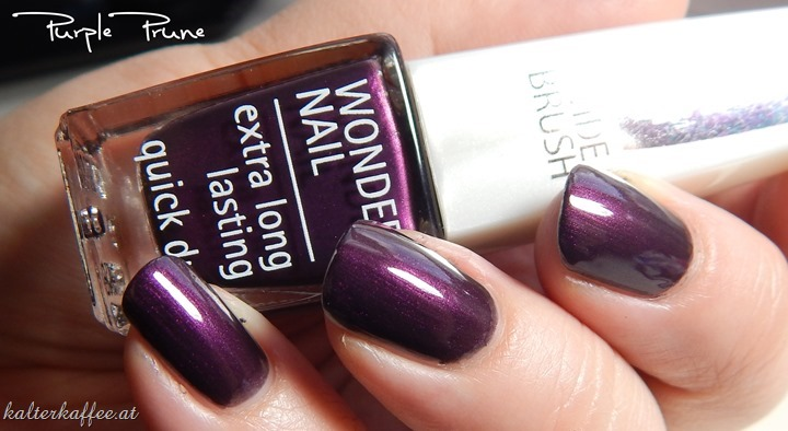 Isadora Coffee & Poetry LE Nail Polish Purple Prune