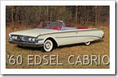 1960 ford edsel CONVERTIBILE