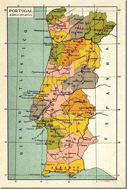 mapa escolar portugal Restos de Colecção: Ensino Primário mapa escolar portugal