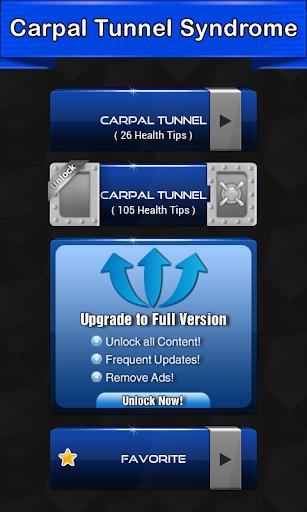 Carpal Tunnel Symptoms