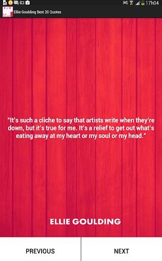 Ellie Goulding Best 20 Quotes