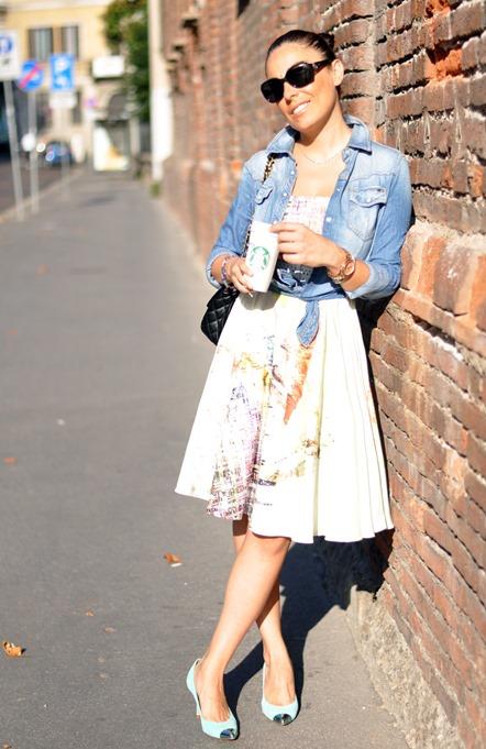 zara shoes, chanel bag, outfit, stefane dress, sunglasses vogue, fashion bloggers