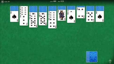 Spider Solitaire HD para Windows 8