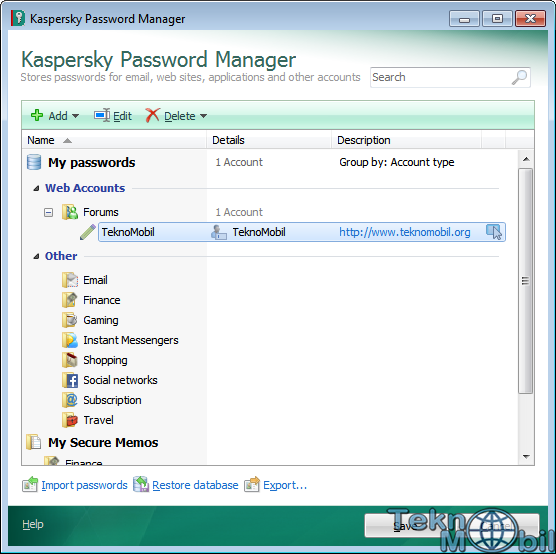 Kaspersky Password Manager v5.0.0.186 Full