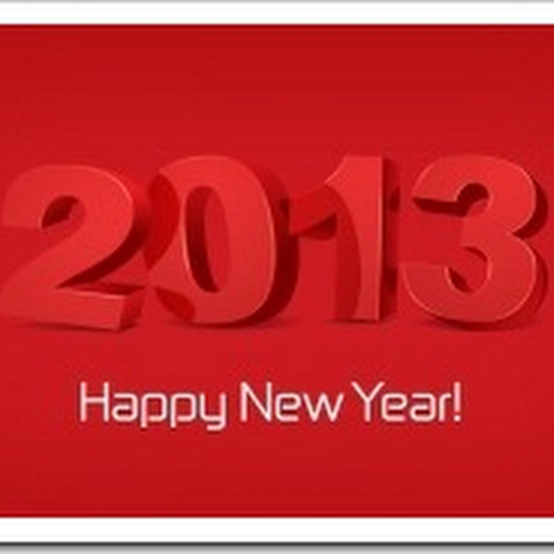 Happy New Year 2013 – Any Exciting Plans for your Art?