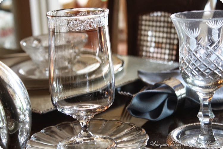 Lenox Moonspun Goblet-Bargain Decorating with Laurie