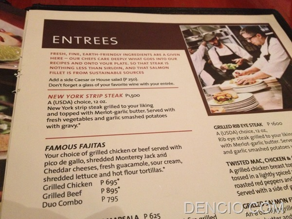 Hard Rock Cafe Makati Menu Prices 08