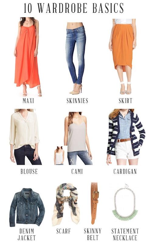 10 pieces to build a casual wardrobe