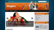 Shoppica blogger template 225x128